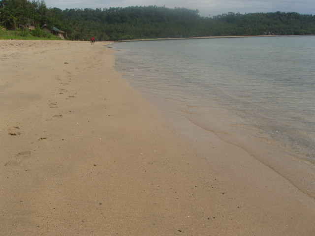 Dancalan Beach in Bulusan is most of the times  all your own especially before and after the summer vacations.
