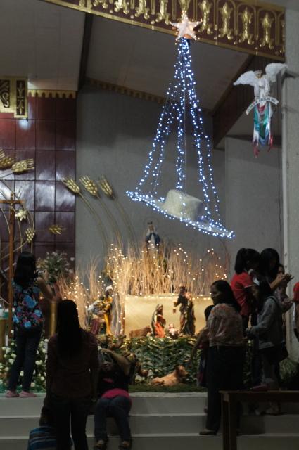 Bulusan's Christmas scene 2012