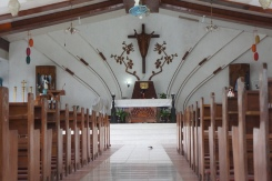 San Vicente Ferrer is attributed by locals with healing powers, visits to this chapel are usually made during Fridays.
