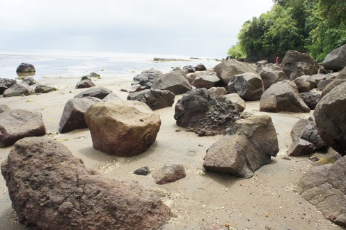 Mapaso is an old lava flow according to Phivolcs. Boulders and rocks included.