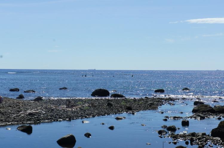 Shades of Blue in Mabuhay coast