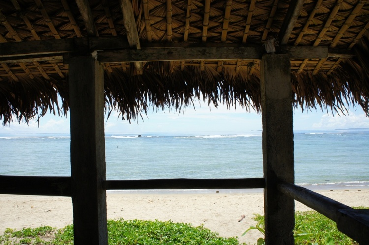 Corner at the beach