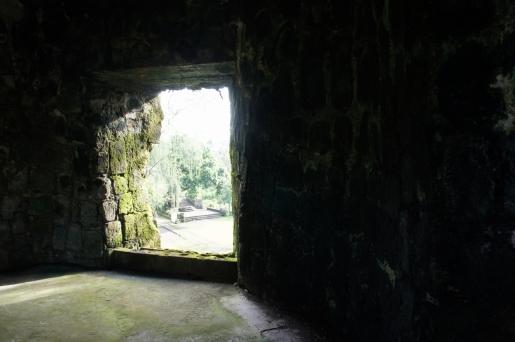 Inside the belfry of Punta Diamante fort complex, Bulusan, Sorsogon, 2013.