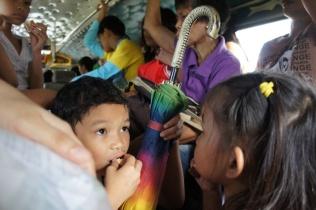 Rural Jeepney commuters