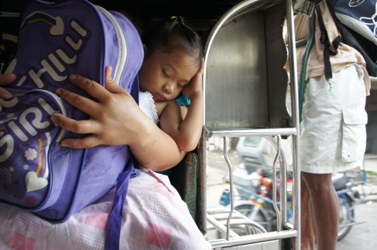 Inside the rural jeepney