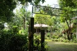 Calatrava resort's entrance in Barangay Porog
