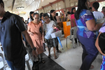 Going to church is a major activity for most of the seniors in Bulusan.
