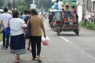 Tricycle with mamon box backload.