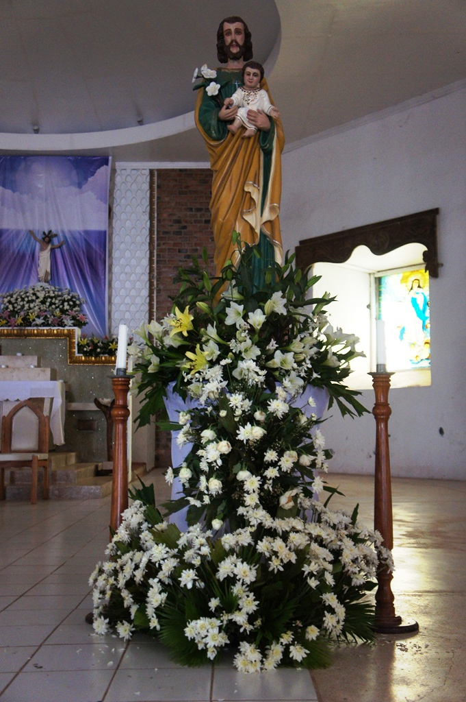 Saint Joseph, patron saint of Barcelona town