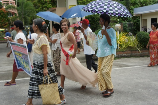 Participants from the village of Sabang